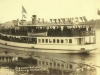S. S. Anthemis - Steamer (1900-1954) - Leaving Newport, Vermont