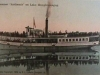 S. S. Anthemis - Steamer (1900-1954) - On Lake Memphremagog in 1909