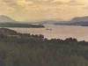 Lake Memphremagog taken from Pine Hill, Magog