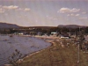 View of Magog's Beach in 1965