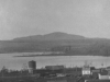 View of Magog, Water Tower and Mount Orford