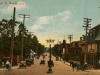 View of Main Street in Magog in 1915 (in memory of Fred Lilley 1907-2002)