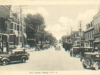View of Main Street in Magog (1938)