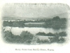 View of Merry Point in Magog from the Battle's House, around 1890 (in memory of Mary H. Baird (Comeau) 1898-1977)
