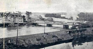 Magog's bridge (around 1905)
