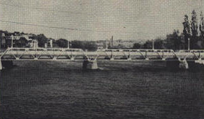 Magog's bridge (around 1945-1955)