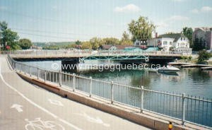 Magog's bridge (side 1, around 1995)