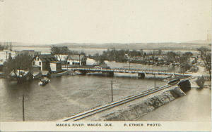 Magog's bridge (around 1910)