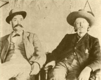 Buckskin Joe and William Palmer