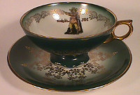 Buckskin Joe's cup and saucer