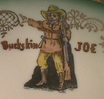 Buckskin Joe's cup and saucer (2)
