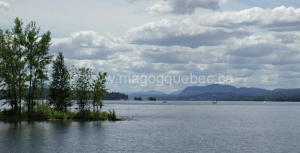 Magog and Lake Memphremagog