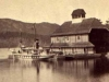 Sir Hugh Allan's Yacht and Boat House in 1868