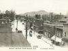 View of Magog, Mount Orford and Main street