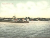 View of Magog's Wharf in 1905