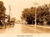 View of Main Street in Magog in 1932 (in memory of Albert W. Comeau)