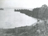 View of Merry Point in Magog in 1877