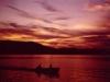 2000 (around) - Sunset on lake Memphremagog (courtesy of Gary Matthams)