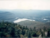 2000 (around) - Lac Orford du sommet du mont Orford (courtoisie d'Yves Gauthier)