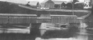 Magog's bridge (around 1877)
