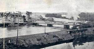 Magog's bridge (around 1905)