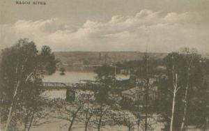 Magog's bridge (around 1910)