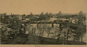 Magog's bridge (around 1920)