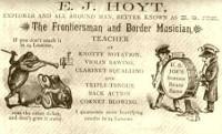 Buckskin Joe's show card