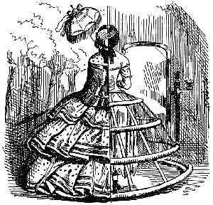 Hoopskirt in 1856