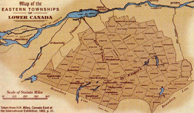The Eastern Townships in 1862
