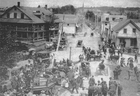 Merry South and Hatley Street around 1895