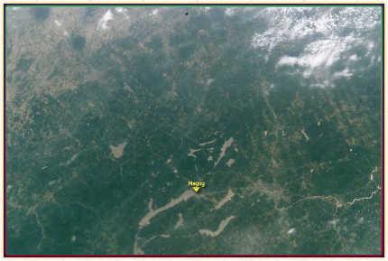Magog à 314 km d'altitude