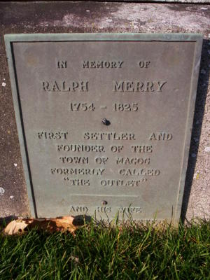 The grave of Ralph Merry III